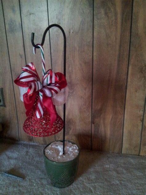 shepard hook hanger crafts   christmas decorations