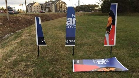vangie williams campaign sign vandalized  prince william