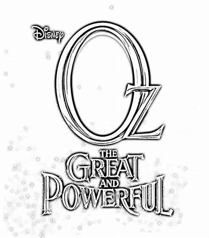 Oz Coloring Powerful Pages Printables Wizard Printable