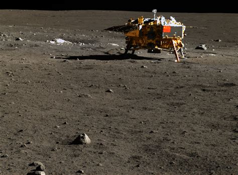 Imagery Spotlighted from China's Lunar Lander Mission