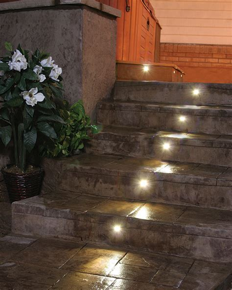 Concrete Step Lighting   How To Build A House