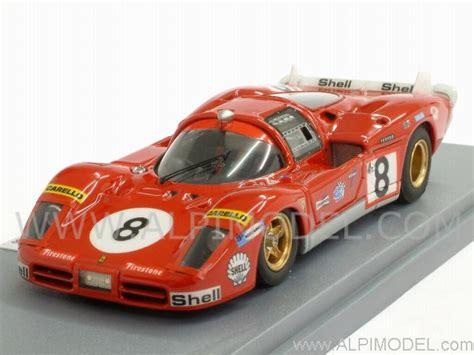 gasoline Ferrari 512 S S.E.F.A.C. #8 Le Mans 1970 ...