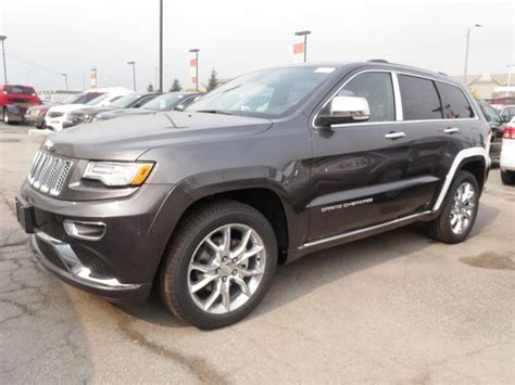 grey jeep grand cherokee 2015 2015 jeep grand cherokee summit 4x4 grey vaughan