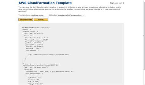 cloudformation template cloudformation 教學 如何透過cloudformer產生現有系統設定template 阿貝好威的實驗室