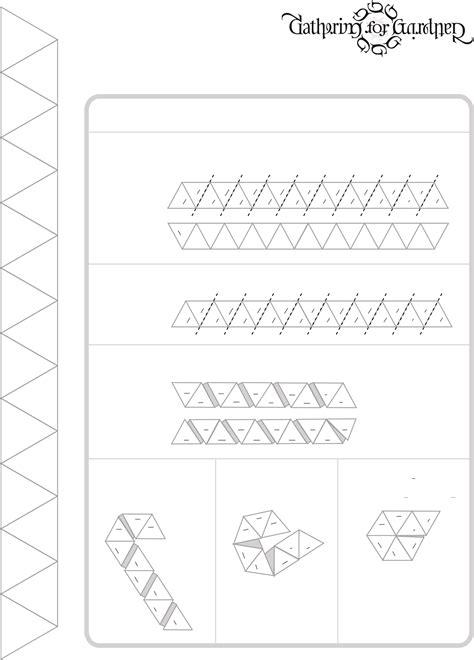 hexahexaflexagon template hexahexaflexagon blank template free