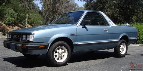 motor auto repair manual 1986 subaru brat seat position control brat only 55k miles 4x4 4wd t tops ac works rear seats calif car nice