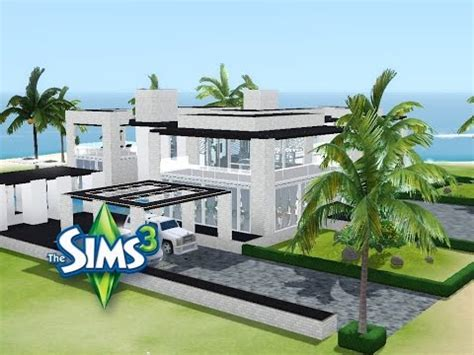 Modernes Haus Let S Build by Sims 3 Haus Bauen Let S Build Modernes Luxushaus Mit