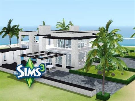 Sims 3  Haus Bauen  Let's Build  Modernes Luxushaus Mit