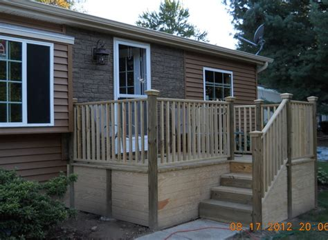 wide exterior remodel mobile manufactured home