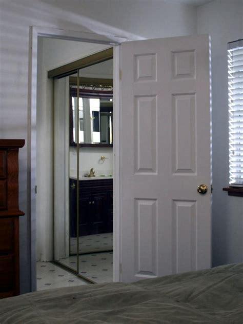 replacing  pocket door   swinging door hgtv