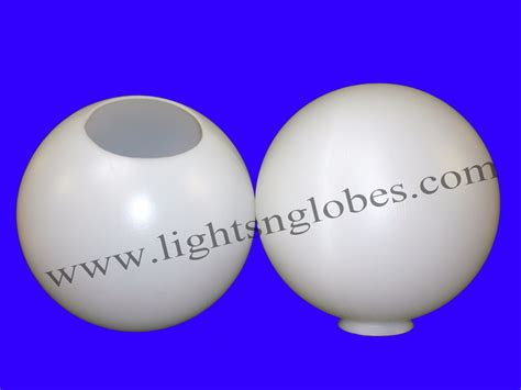 plastic globes for outdoor lights 12 quot round plastic globe outdoor light pole lamp fixture