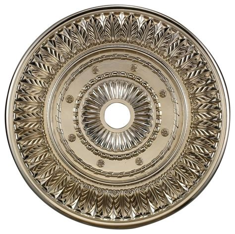 small two ceiling medallions landmark lighting m1013chr corinna ceiling medallion