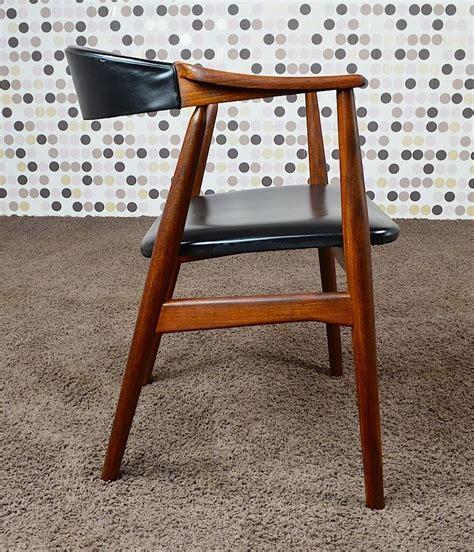 fauteuil de bureau vintage fauteuil de bureau scandinave teck vintage 1960 th harlev