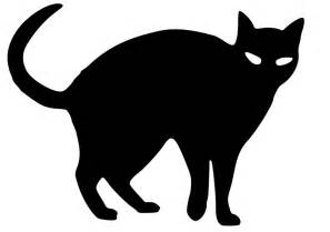 black cat silhouette cat black free stock photo illustrated silhouette of a