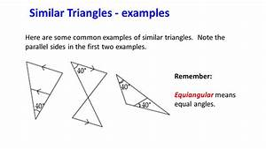 Similar Triangles and other Polygons - ppt video online ...