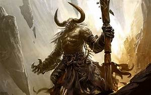 Images For > Minotaur Warrior Art | Boss | Pinterest | RPG ...