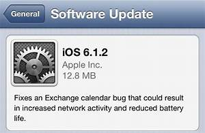 download ios 612 for iphone ipod touch and ipad links With ios 6 1 2 will fix exchange lockscreen issues