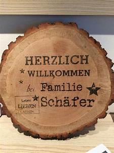Türschilder Holz Familie : die besten 25 namensschilder haust r ideen auf pinterest ~ Lizthompson.info Haus und Dekorationen