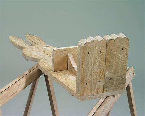 Möbel Aus Holzstämmen by Hasenpaar Selbst Bauen Holzarbeiten M 246 Bel Selbst De