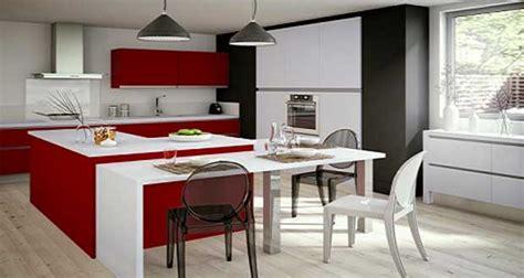 Idée Déco De Cuisine Rouge Moderne Et Design