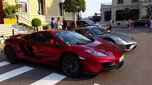 Voiture Monaco : les plus belles voitures de monaco gar es devant le casino de monte carlo youtube ~ Gottalentnigeria.com Avis de Voitures
