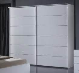 Armoires Blanches Portes Coulissantes by Armoire Design Portes Coulissantes Laqu 233 E Blanche Gardian