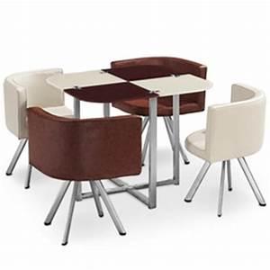 Table Avec Chaise Encastrable : table avec chaises encastrables comparez et faites vos achats ~ Teatrodelosmanantiales.com Idées de Décoration