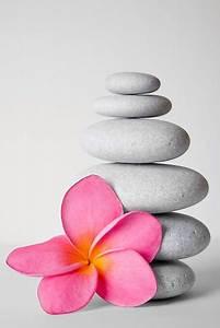 """Zen Pebbles and Frangipani Flower"" by Alex Bramwell ..."