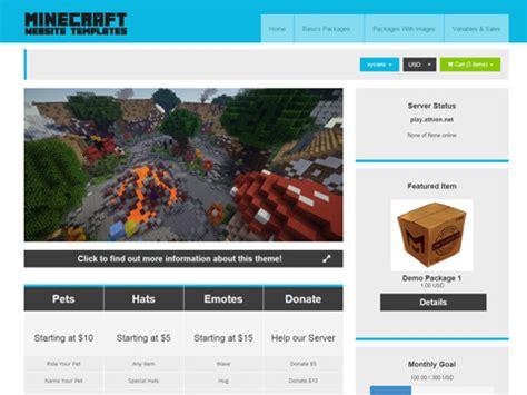 buycraft templates buycraft themes