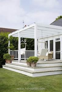 Sonnenschutz Terrassenüberdachung Innenbeschattung : die 18 besten bilder zu berdachte terrassen auf pinterest ~ Orissabook.com Haus und Dekorationen