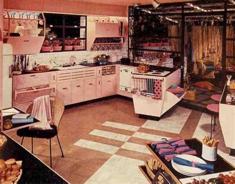 61 Mamie Pink Kitchens: Some of the best for last   Retro