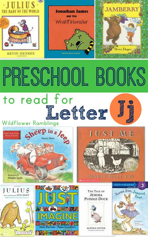 preschool books for letter j wildflower ramblings 189 | booksforletterj 001