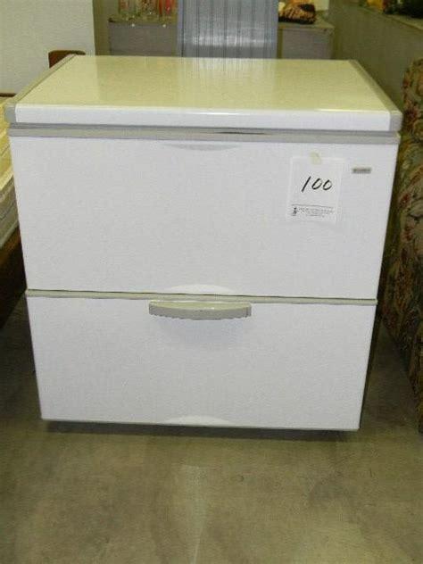 small chest freezer loading lot