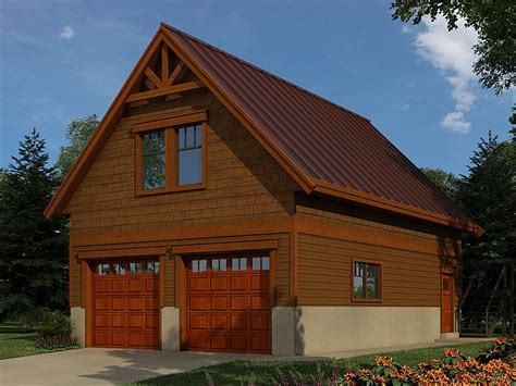 Garage With Loft by Garage Workshop Plans 2 Car Garage Workshop Plan With