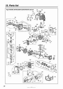 Red Max Bcz2601s 06 Engine Serial No  60100101 And Up Date 01  06 Parts Diagram For 004