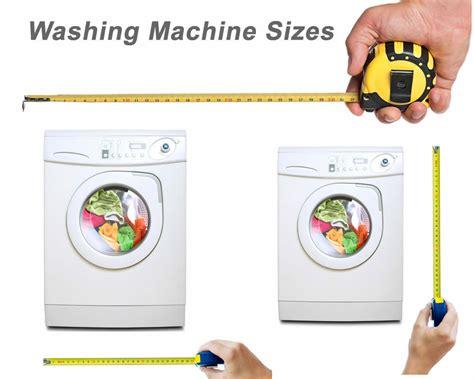 washing machines   problems  sizes whitegoodshelp