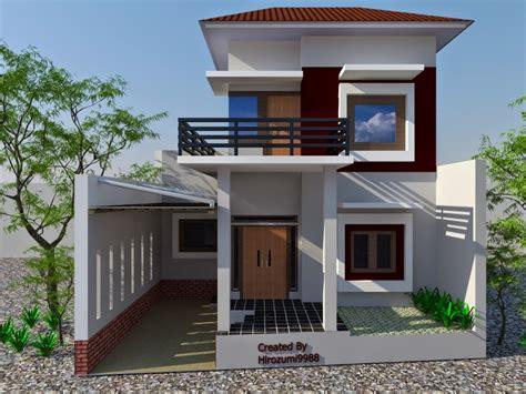 desain rumah minimalis  lantai  gambar rumah pinterest