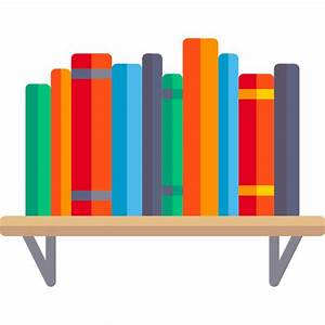Bookshelf - Free education icons