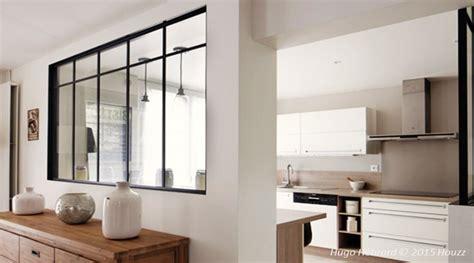 verriere interieure cuisine soubassement mur interieur en bois mzaol com