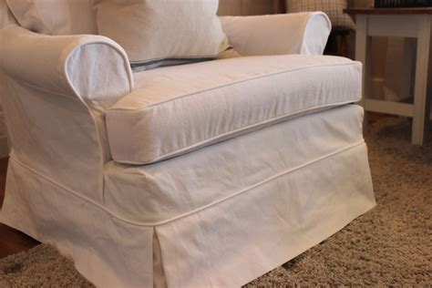 white duck cloth chairs slipcovers by shelley