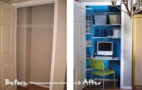 rideau cuisine gris un bureau dans le placard déco mydecolab