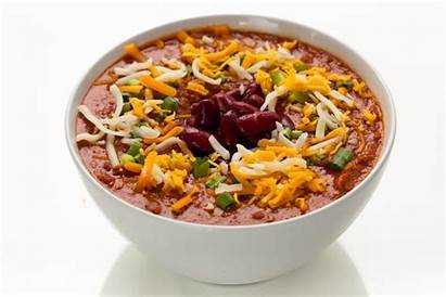 Chili Turkey Cheese Bean Shredded Veggies Bowl