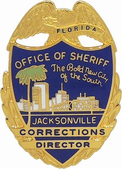 Jacksonville Badge Sheriff Office Badges Florida Blackinton