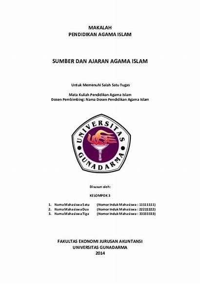 Contoh Makalah Kuliah Tugas Pdf Paper Academia