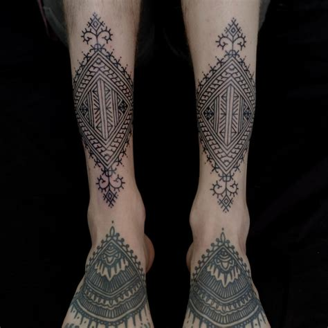 unique mandala tattoo tribal thigh tattoo  tattoochiefcom