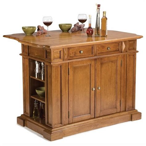 home styles kitchen island distressed cottage oak ebay