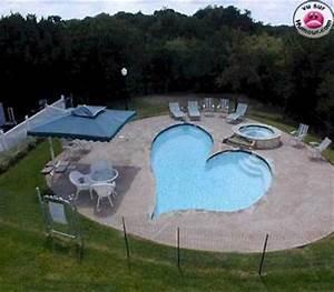 la piscine en forme de coeur xalut vous etes dans mon With piscine en forme de coeur