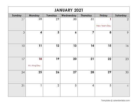 monthly calendar   holidays  printable