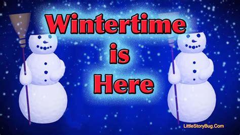 winter preschool song wintertime is here 860 | maxresdefault