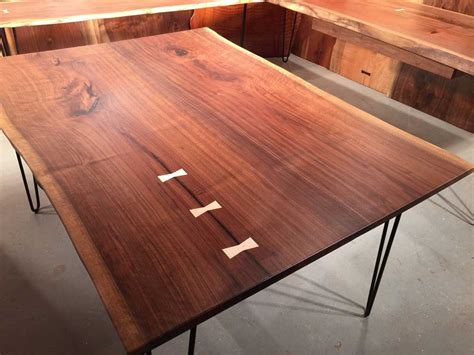 wood slab dining tables dumonds custom furniture